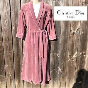 Christian Dior Vintage Robe OS